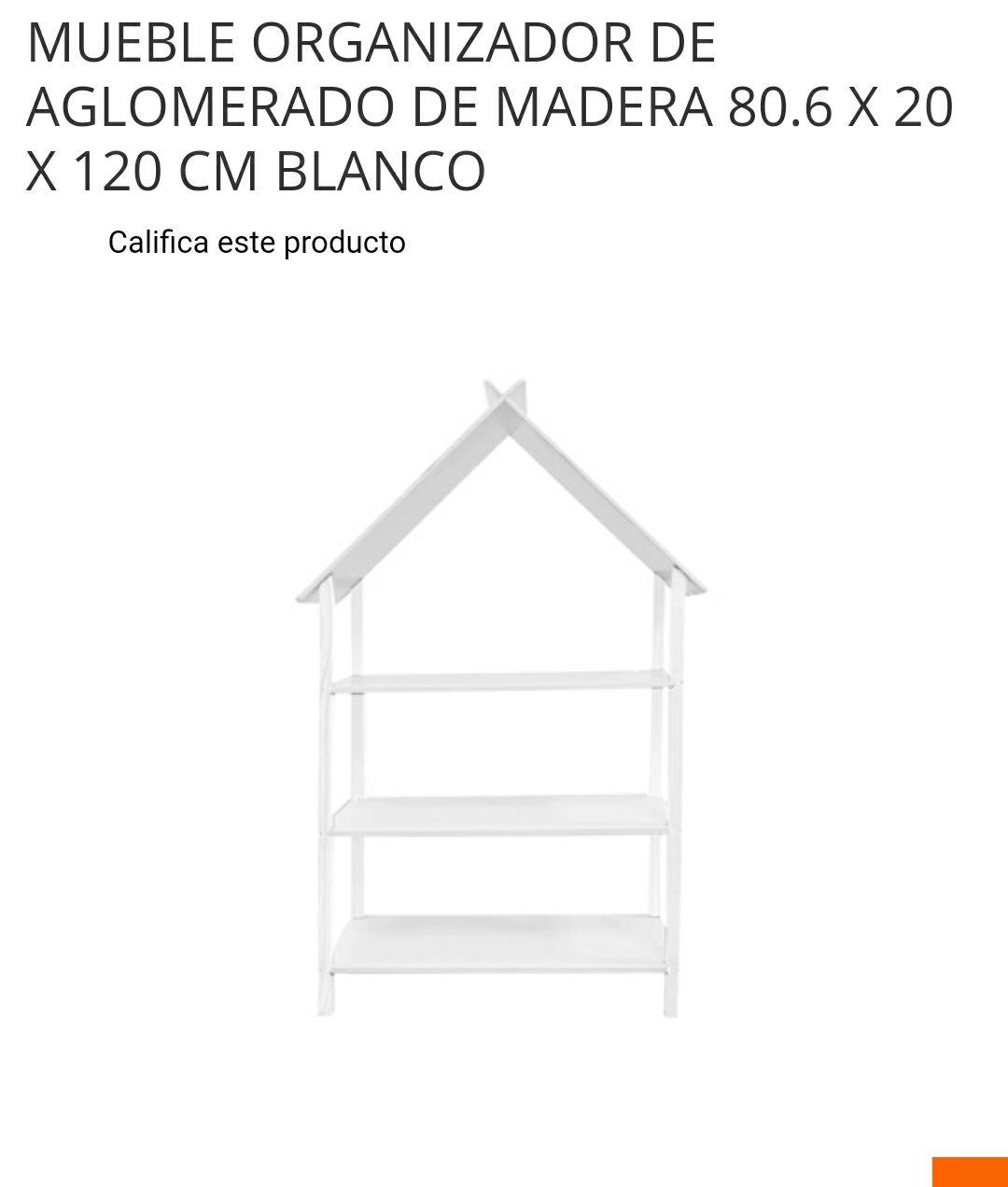 Home Depot: Bonito mueble de organización para la bendi