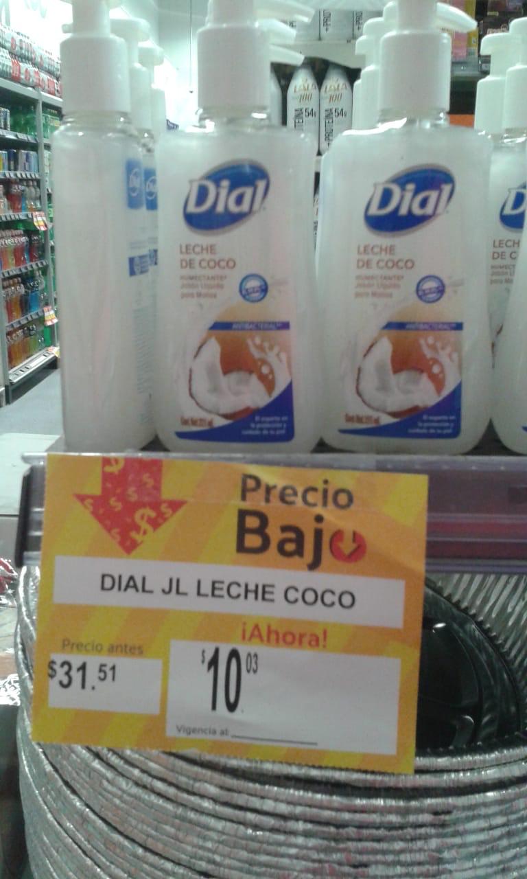 Jabón Dial primera liquidación Superama