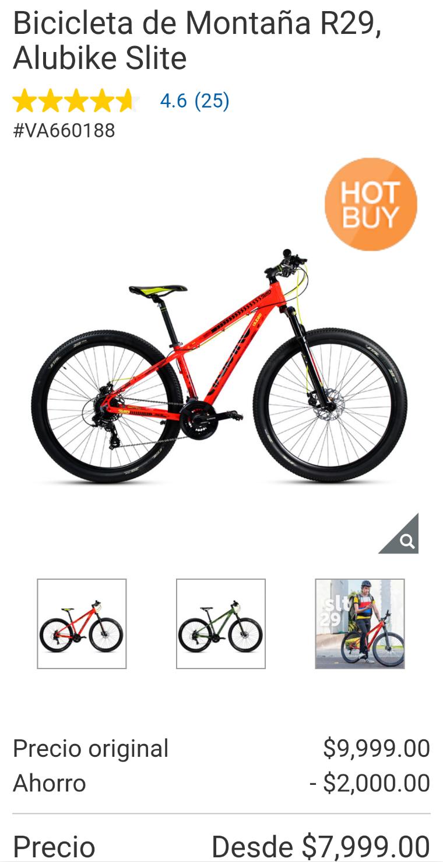 Costco - Bicicleta de Montaña 15KG Shimano Tourney R29, Alubike Slite (Roja & Verde)