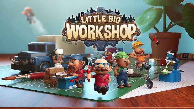 Prime Gaming: Little Big Workshop y Algo Bot gratis para miembros de Amazon Prime