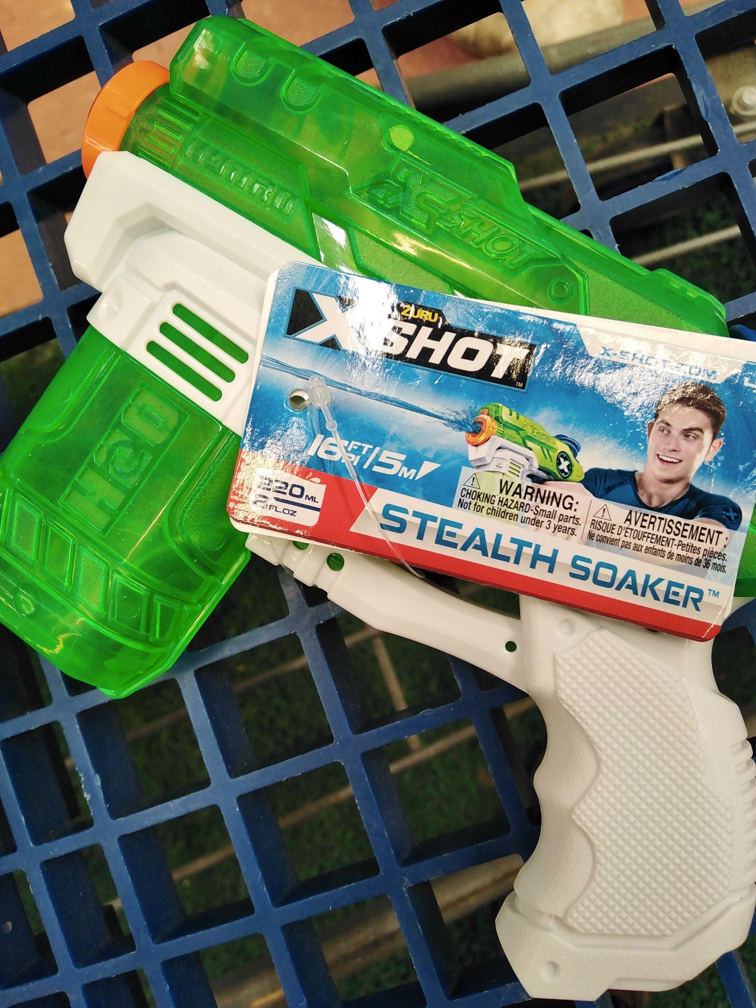 Walmart: pistola de agua Xshot