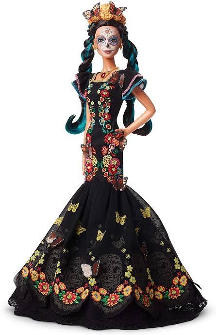 Soriana: Barbie Día de muertos 2019.