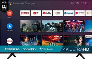 """Amazon: Hisense Televisión de 55"""" SmartTV 2020 Full HD Android TV Led HDR10 Motion Rate 120 Google Assistant   55H6510G (Renewed)"""