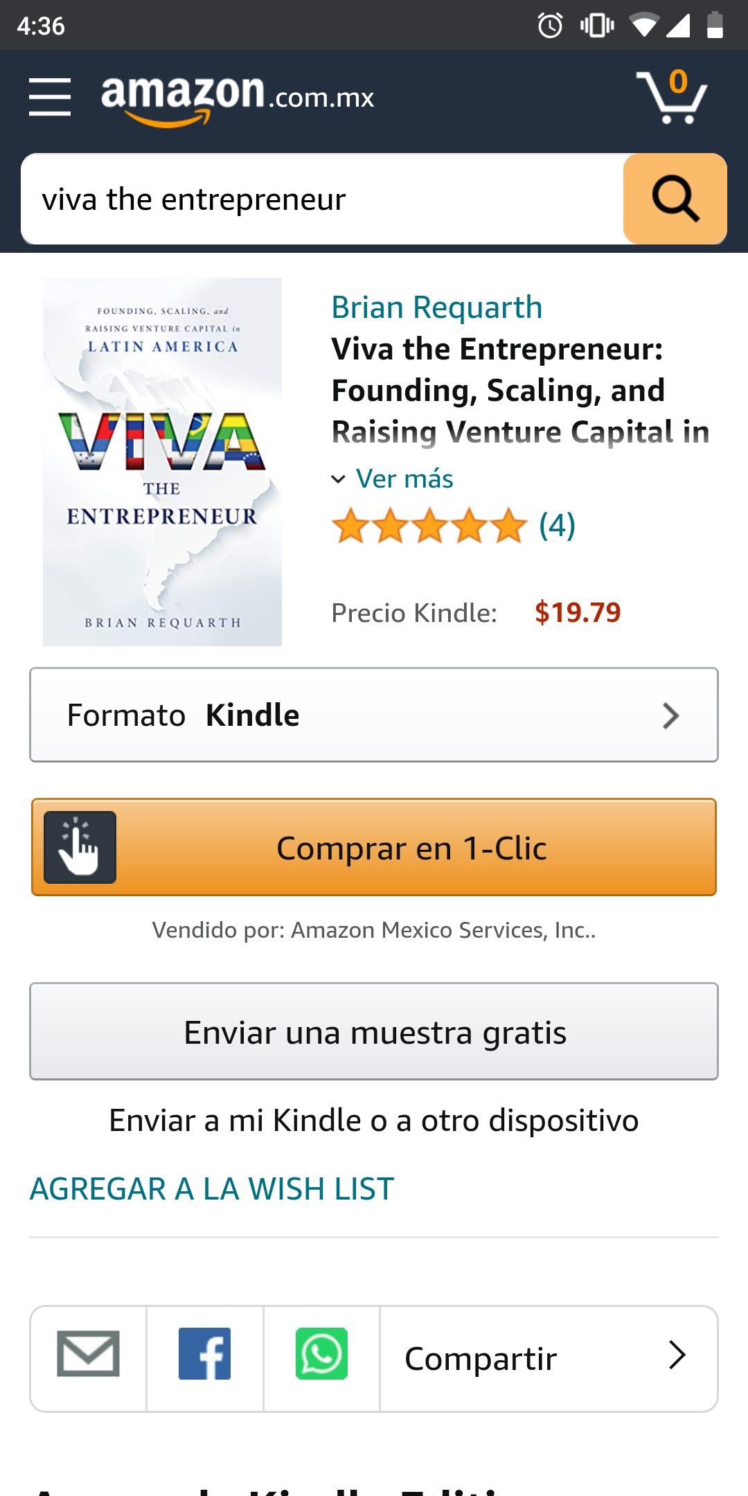 Amazon: Viva the Entrepreneur: Founding, Scaling, and Raising Venture Capital in Latin America (English Edition)