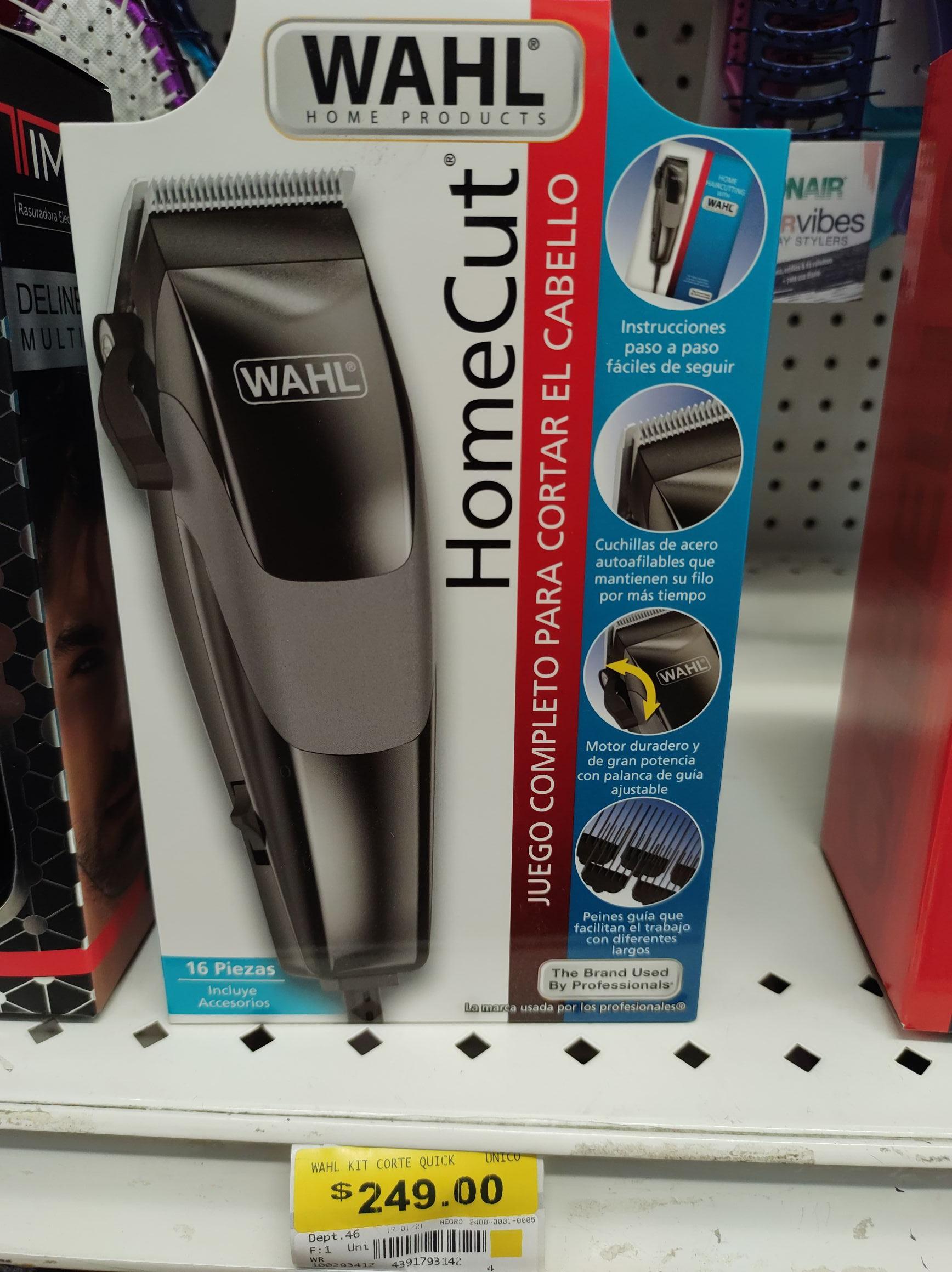 Bodega Aurrera Los Mochis: Juego para cortar el cabello Wahl Home Cut 16 pzas