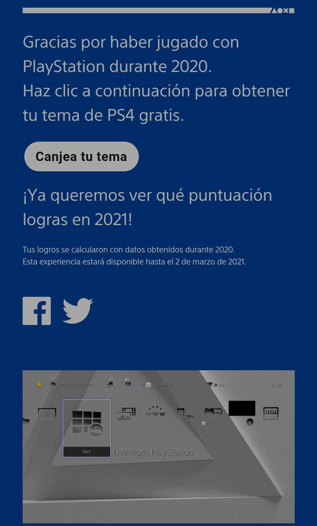 Tema especial PS4 2020