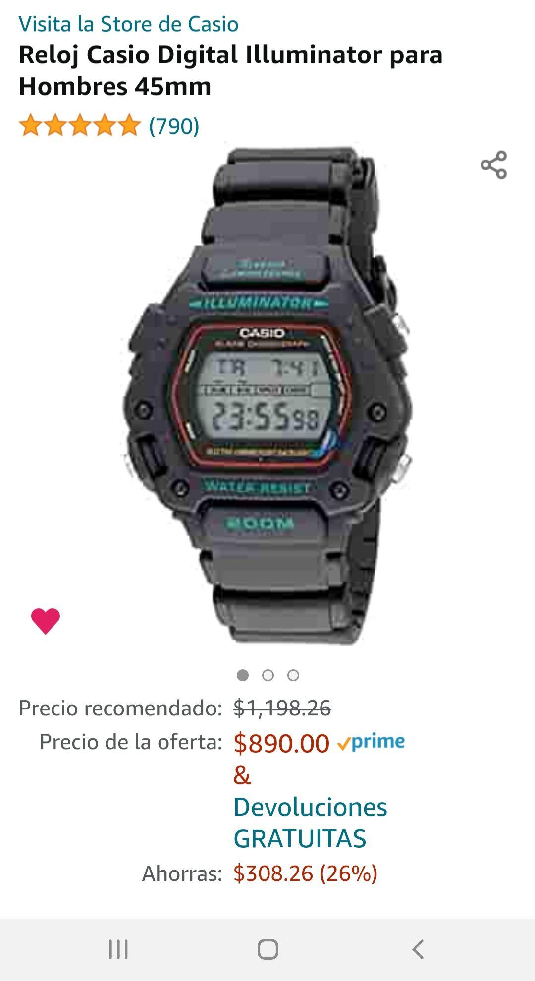 Amazon: Casio EAW-DW-290-1V