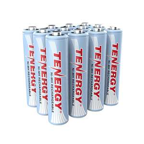 Amazon, 12 baterías recargables 1000mAh aaa