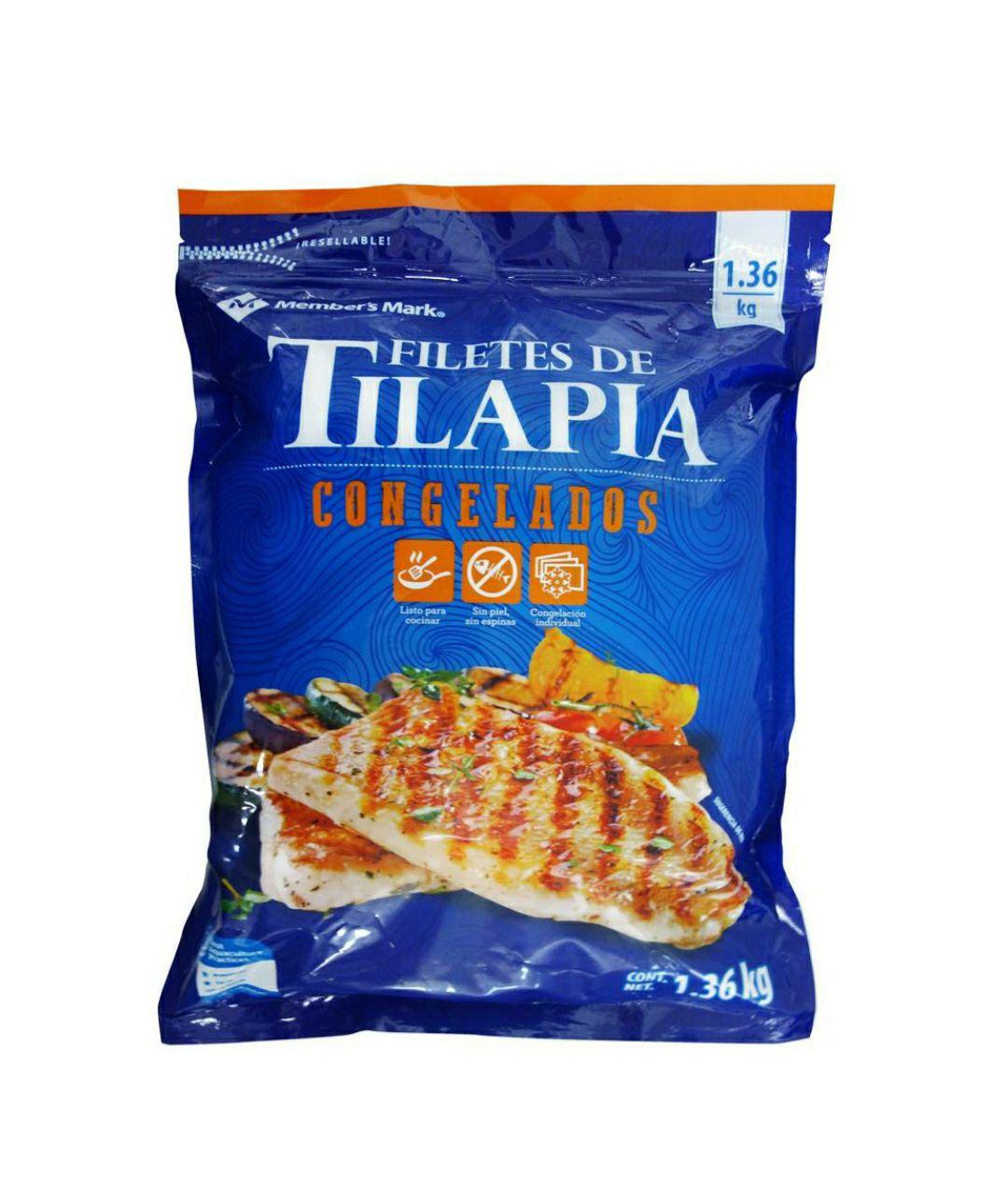 Sams Club: Filete De Tilapia Member's Mark 1.36kg.