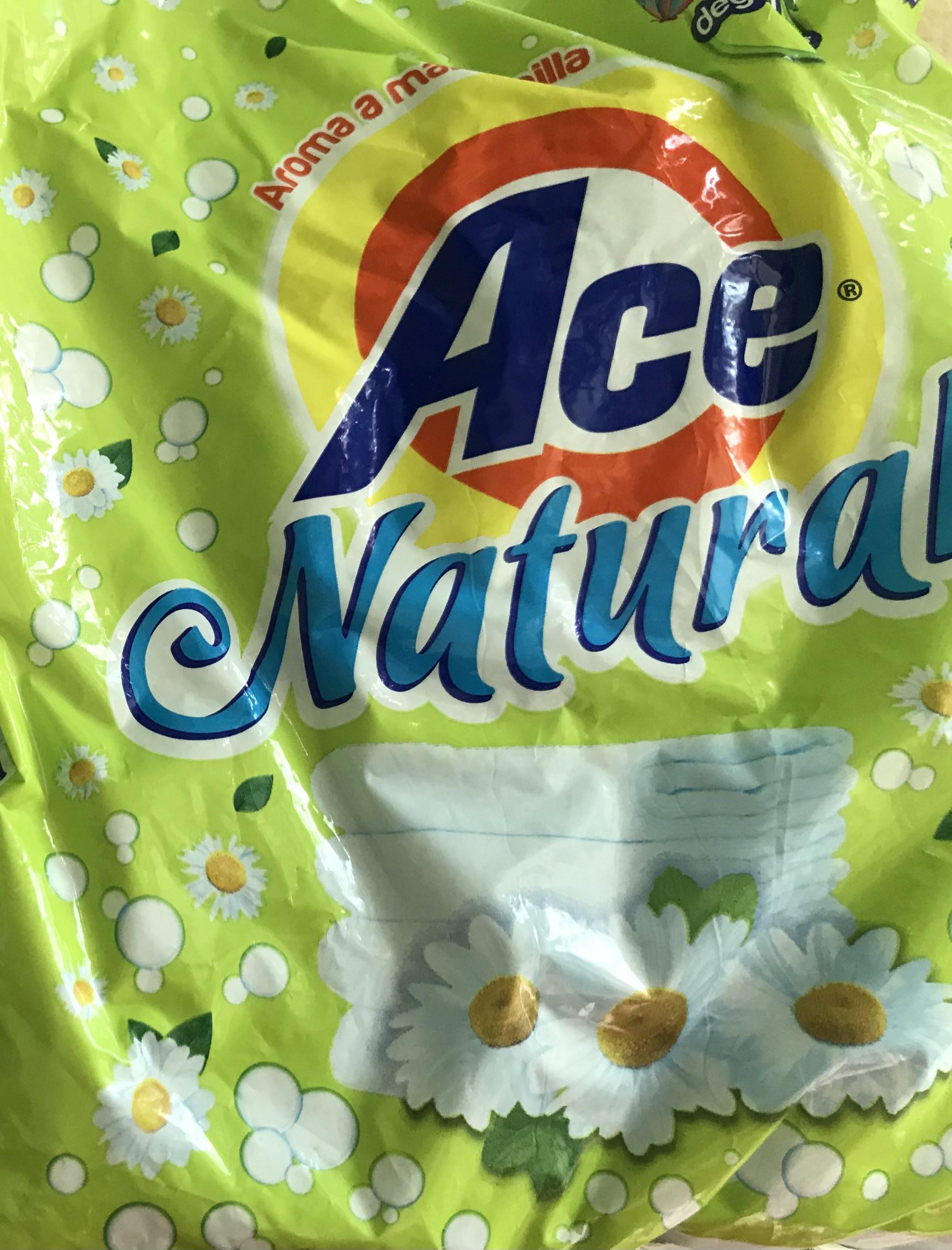 Bodega Aurrerá: detergente 800 grs ace naturals manzanilla