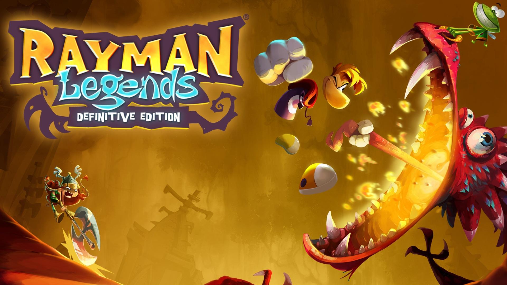 Nintendo: Rayman Legends Definitive Edition eShop