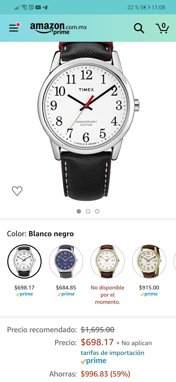 Amazon: Timex TW2R62400 Aniversary edition