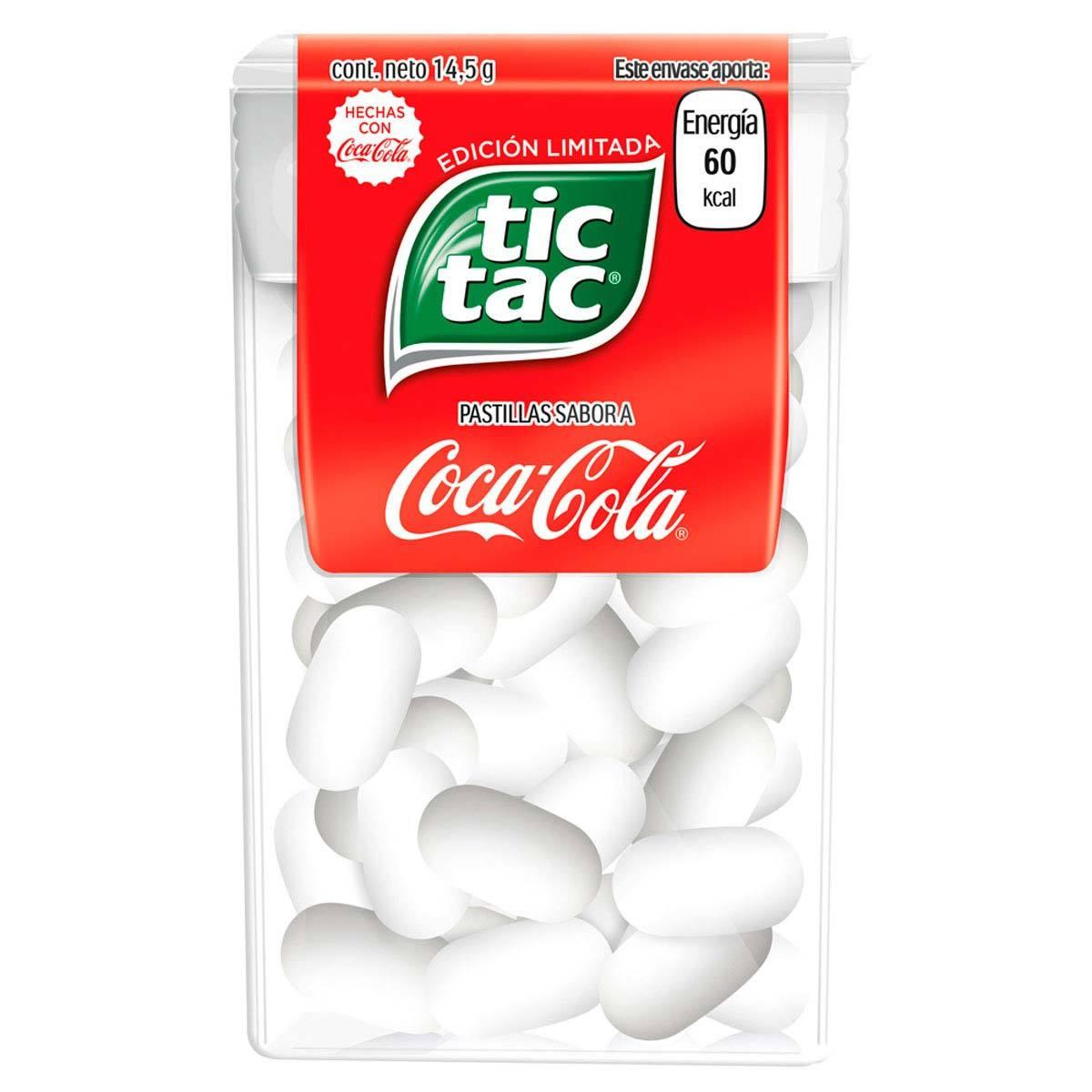Chedraui Online Pastillas Tic Tac Coca Cola 14.5g