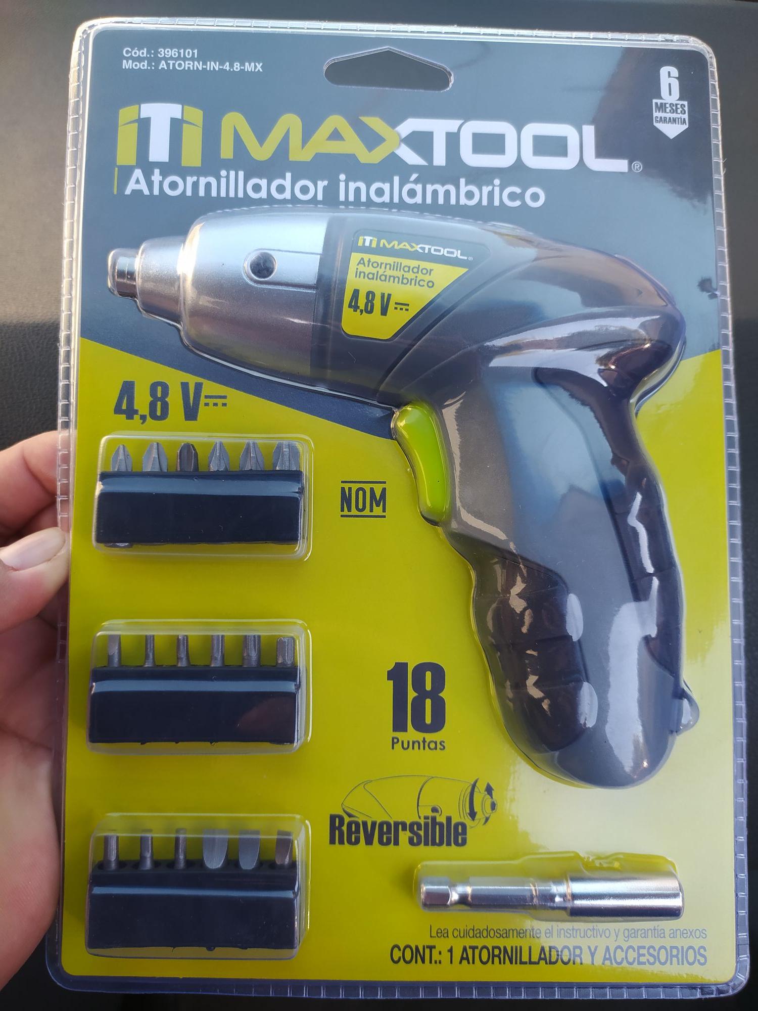 Ley - Destornillador inalámbrico Aksi Maxtool