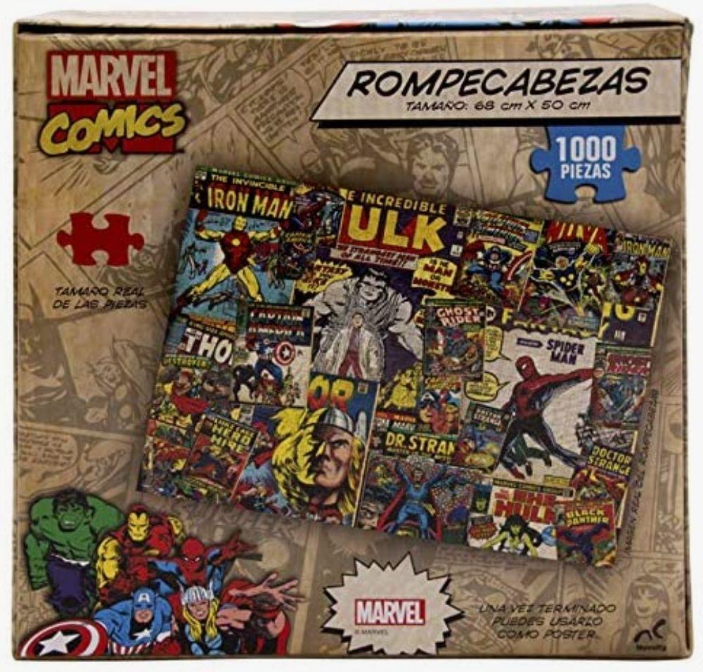 Amazon: Rompecabezas Adulto Marvel Comics