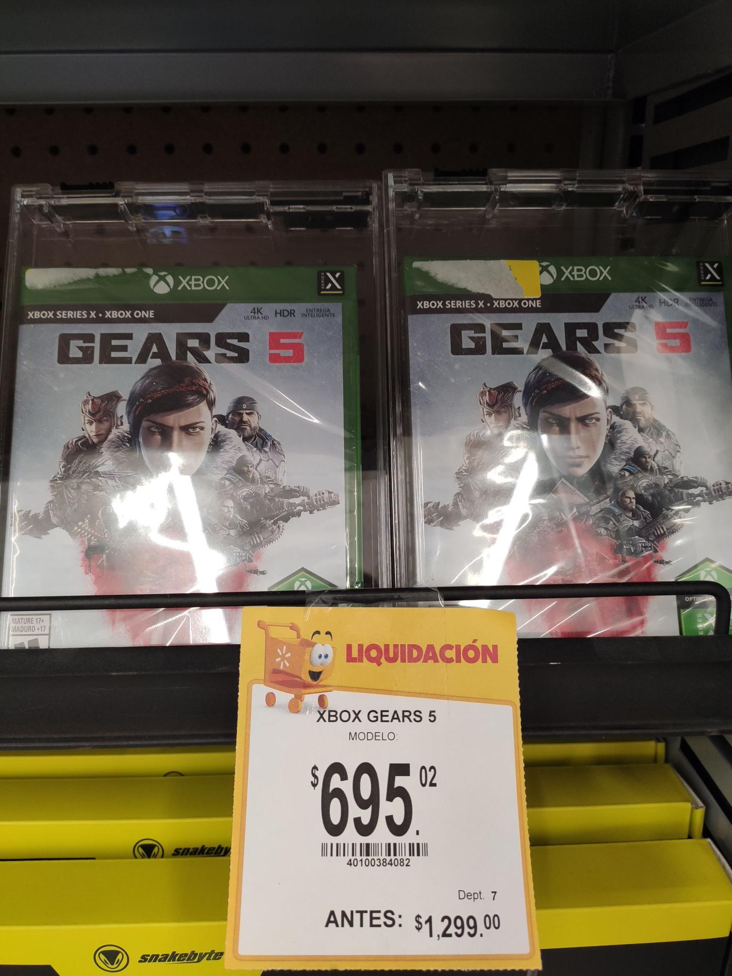 Walmart Lagos de Moreno: Gears 5 Xbox