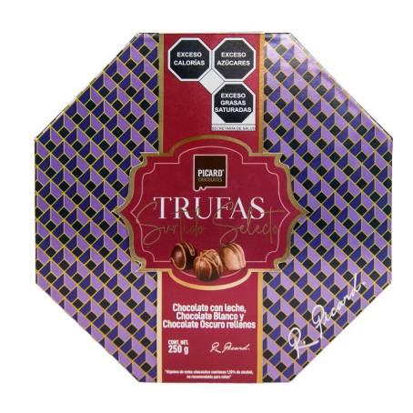 Sam's Club: 4 cajas Trufa Surtido Selecto Picard 250 g