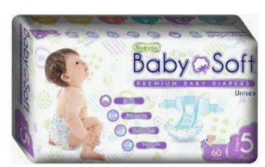 Pañales baby soft Mega Soriana
