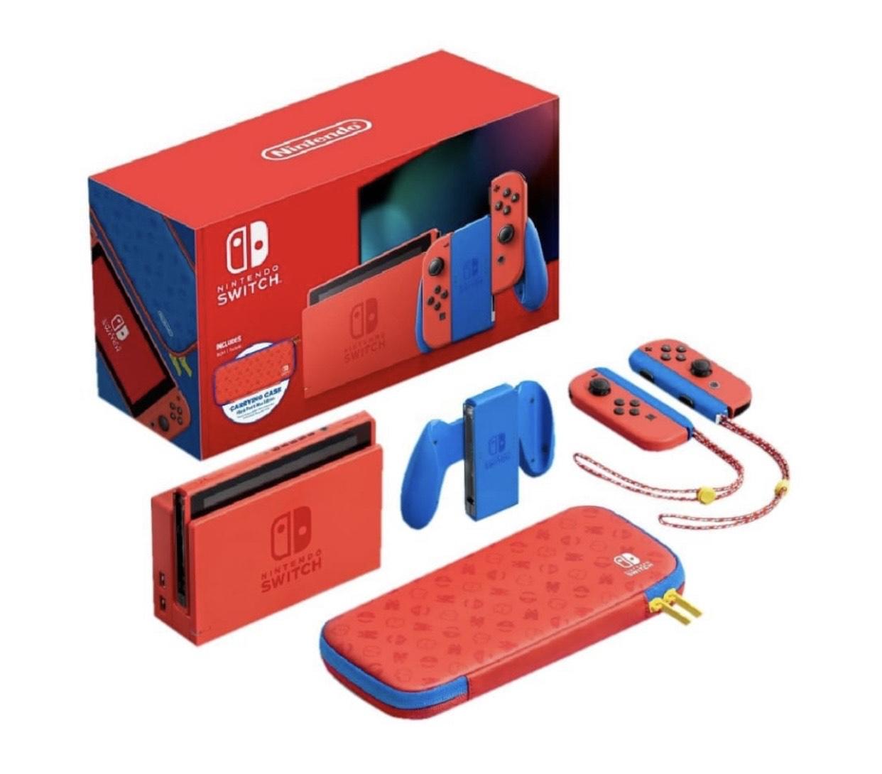 Bodega Aurrera: Nintendo Switch 1.1 EDICION MARIO BROS descuento Banamex $8,500