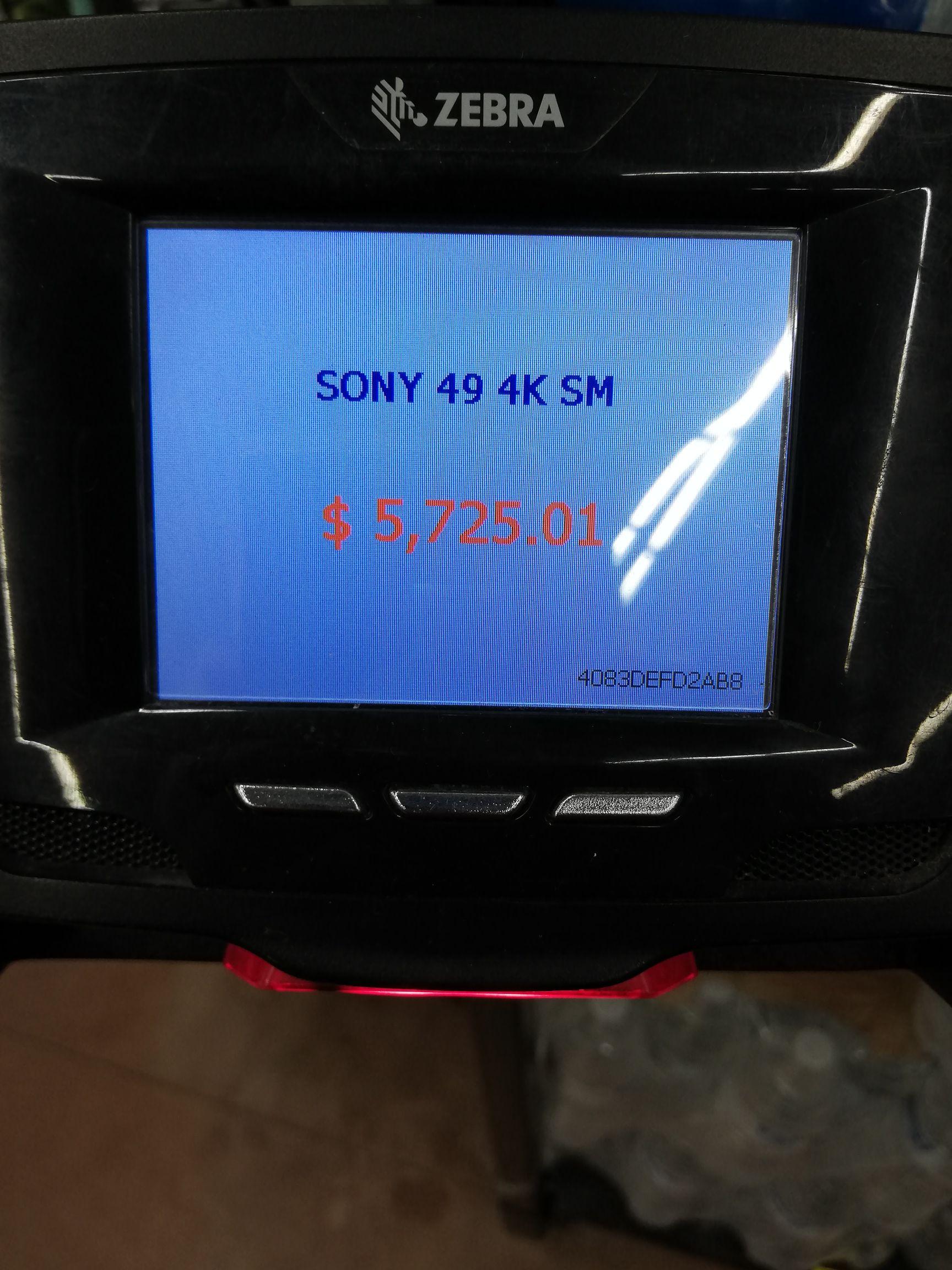 Walmart Tijuana: Sony 49 4K