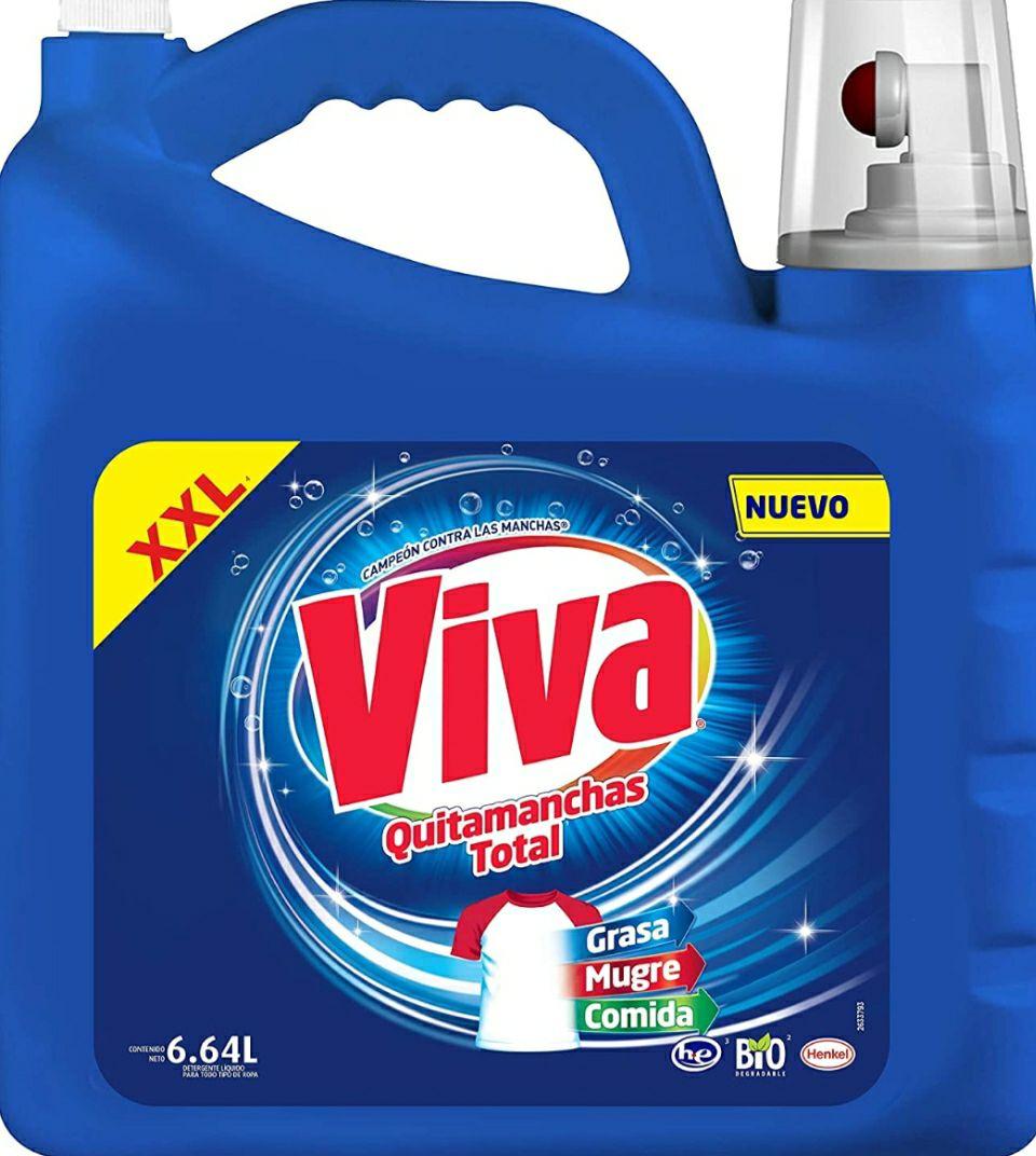 Amazon viva poder dual con clorox ropa universal 6.64 litros ( con planea y ahorra )