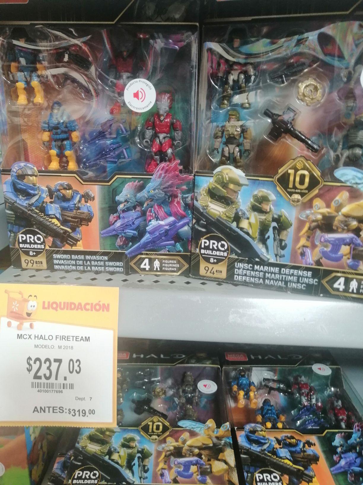 Walmart:Halo fireteam 2da liquidacion