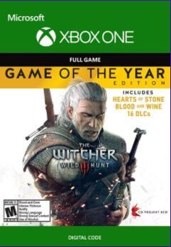 Eneba: The Witcher 3: Wild Hunt GOTY (Xbox One) Xbox Live Key ARGENTINA
