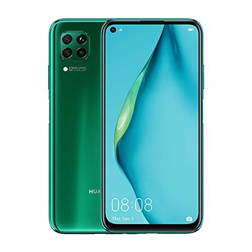 "Amazon Huawei P40 Lite - Smartphone 6.4"", 48 Mp Con Ia Ultra Angular, 6Gb Ram + 128Gb Rom, Desbloqueado, Color Verde Destello"
