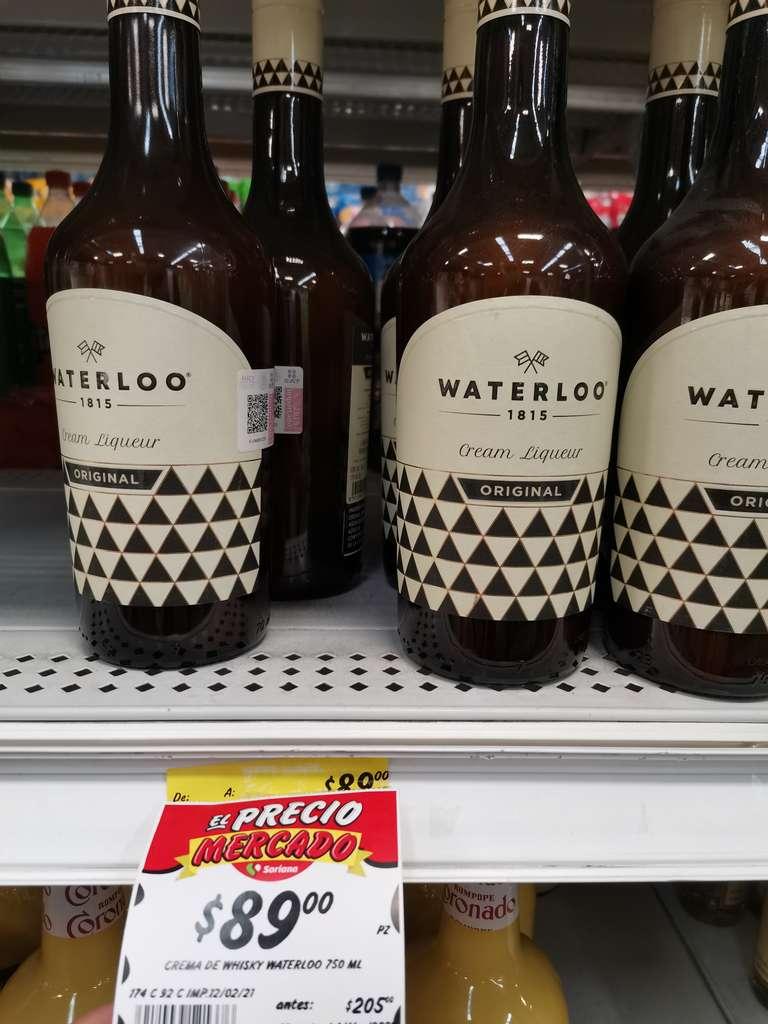 Soriana Tlaquepaque: Waterloo crema de licor