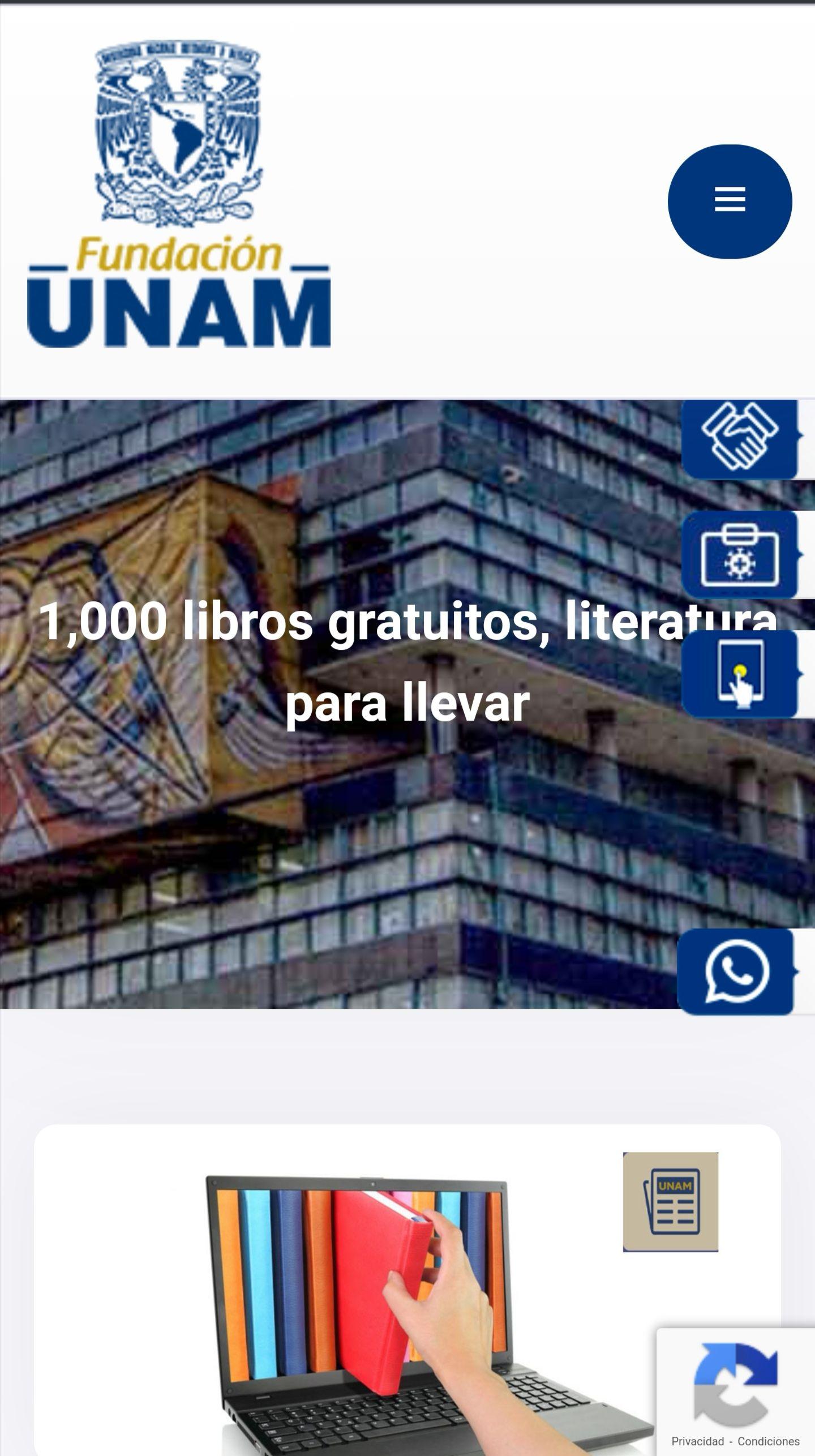 Fundación UNAM : 1,000 clásicos de literatura Español e Inglés Gratis