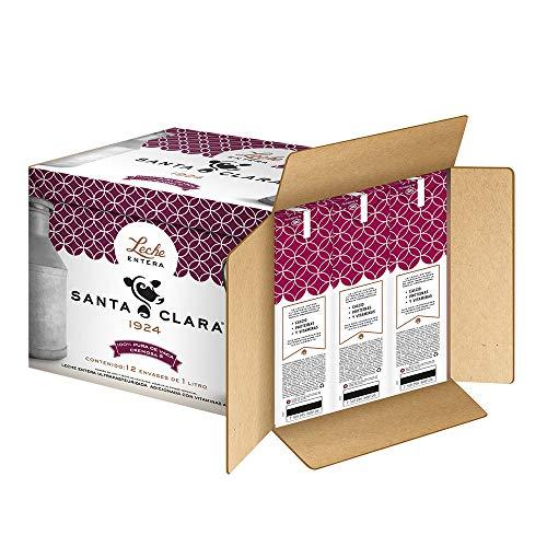 Amazon: Leche Santa Clara 12 pack 1L