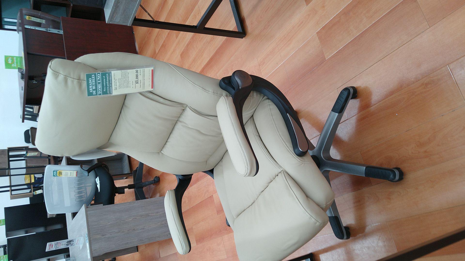 Office Depot: Sábados y domingo, muebles: llévate el segundo con 50% de descuento