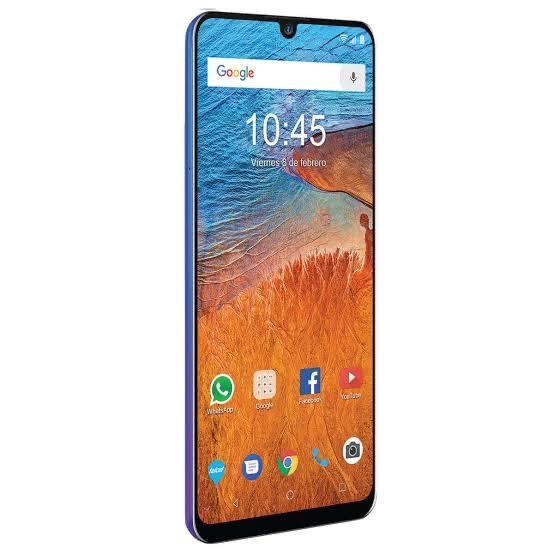 Telcel: ZTE Blade V10 4GB/64GB (Morado-azul o rojo)