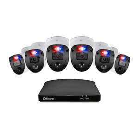 Sam's Club: Sistema de Seguridad Swann DVR 8 Canales + 6 Cámaras Enforcer