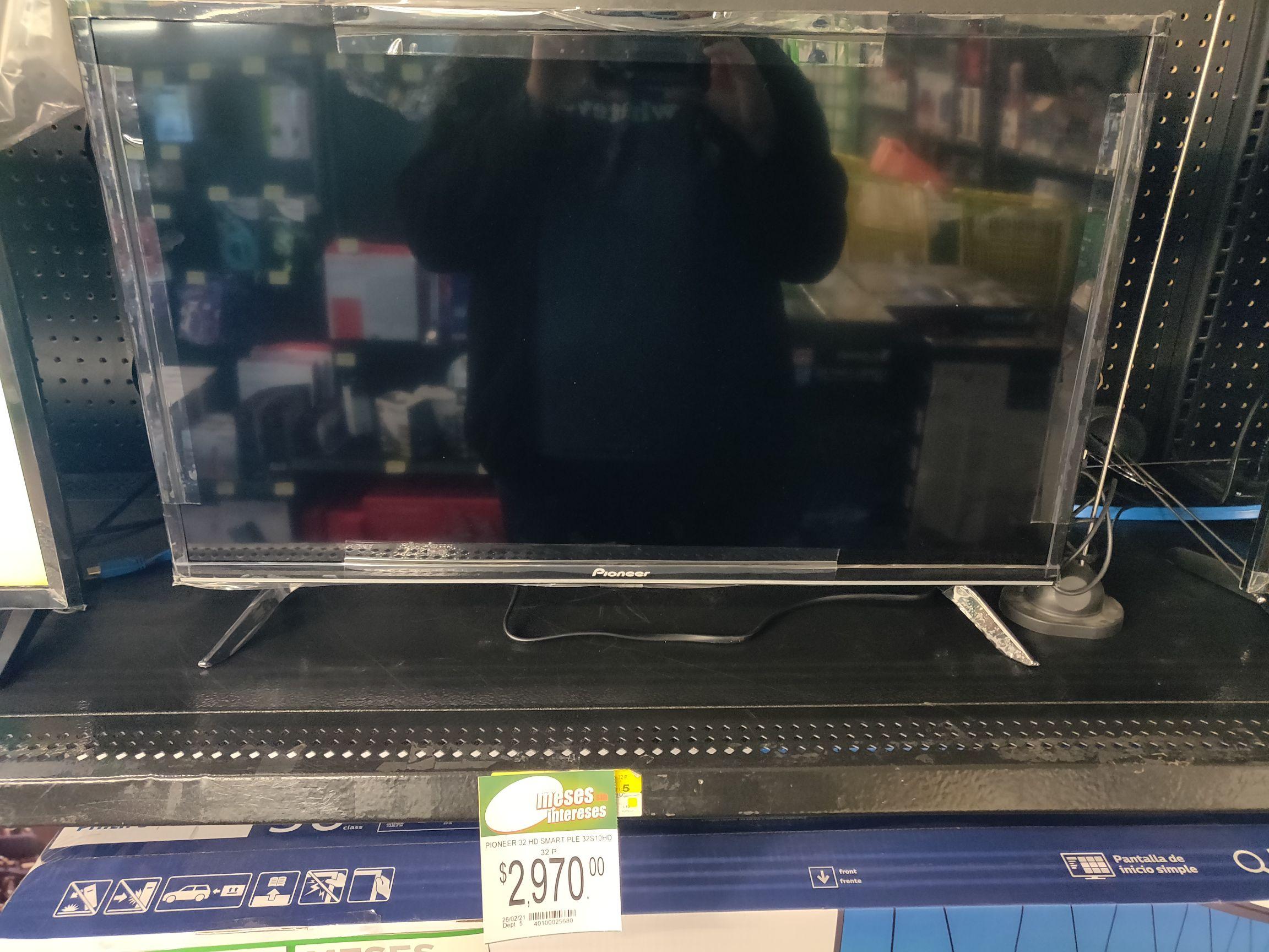 "Bodega Aurrera: Smart TV Pioneer 32"""