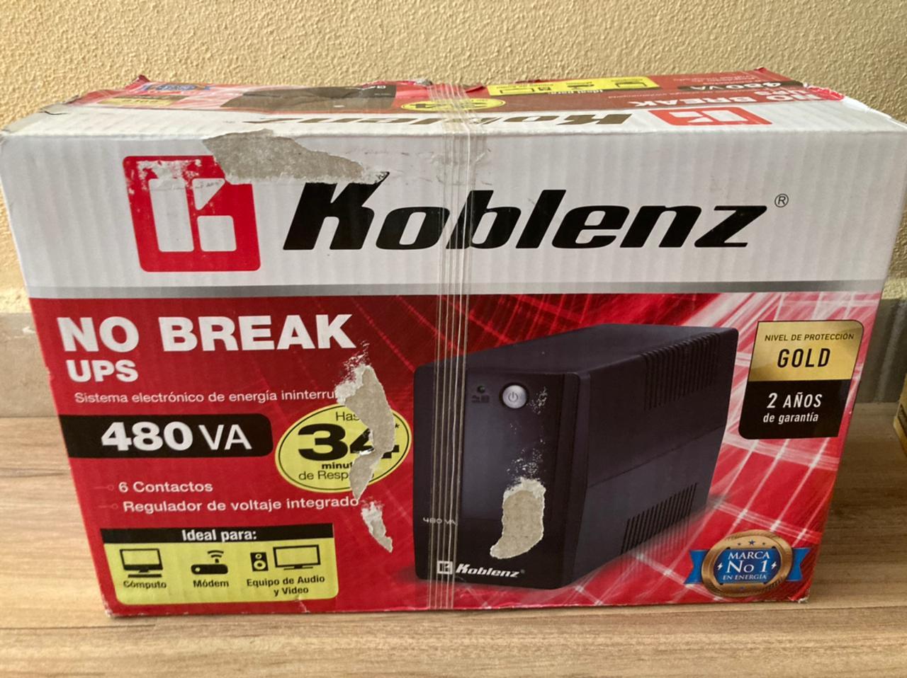 Chedraui No Break Koblenz 480 VA (4816 R)