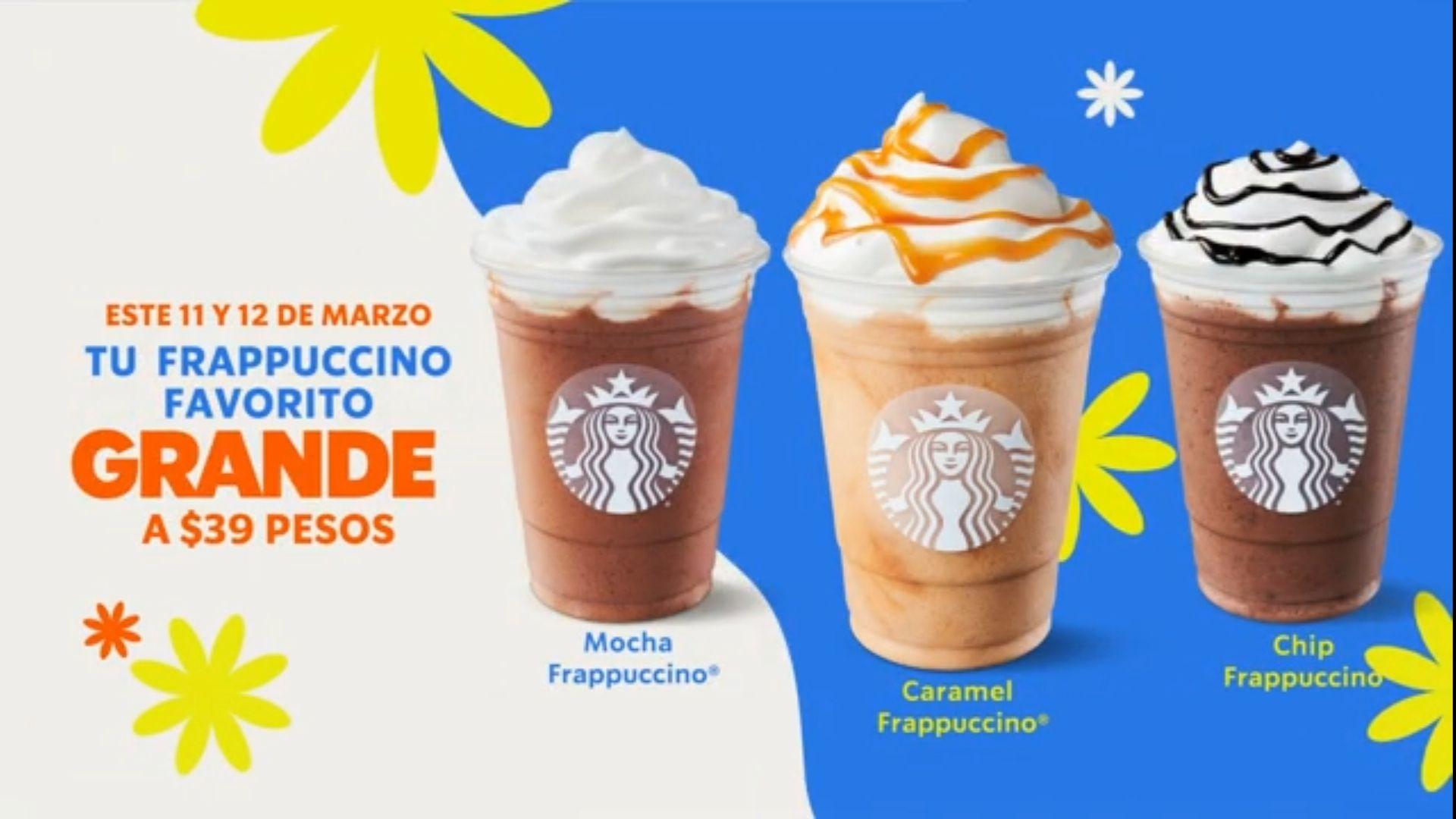 Starbucks Frappuccino Grande a $39