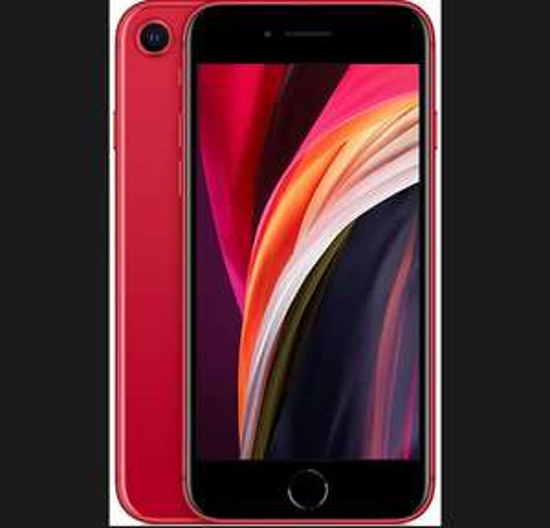 Amazon: iPhone SE 2020 64 GB product red (renewed)
