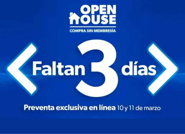 Sam's Club: Open House del 12 al 16 de marzo de 2021