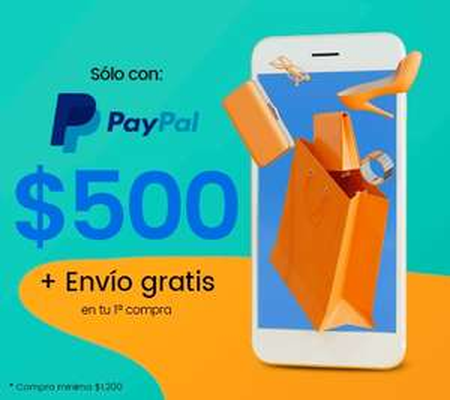 Privalia: 500 pesos de descuento al pagar con PayPal