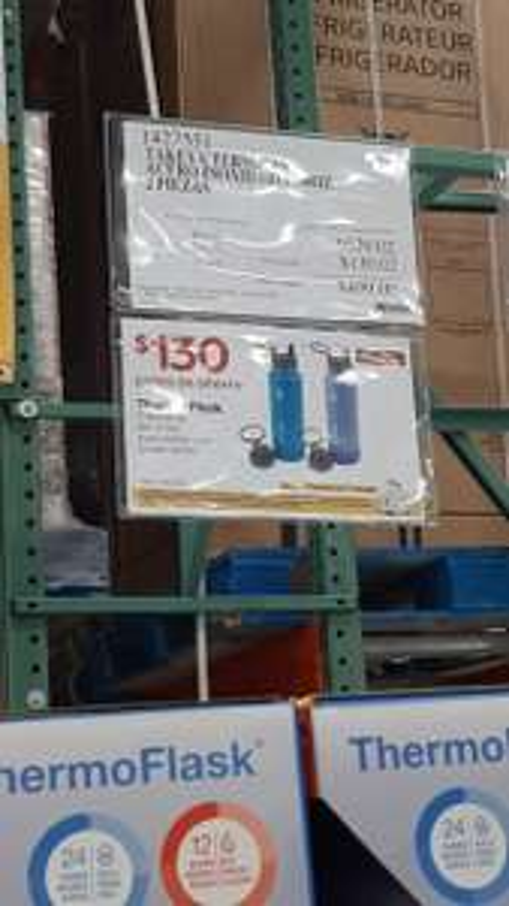 Costco: Thermo Flask Takeya juego de 2 botellas termicas 40 oz/1.2 Litros