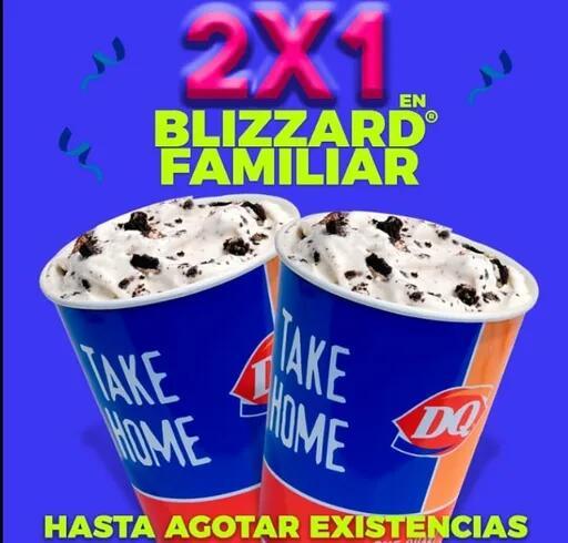 Rappi: Dairy Queen 2x1 Blizzard Familiar CDMX y MTY algunas sucursales