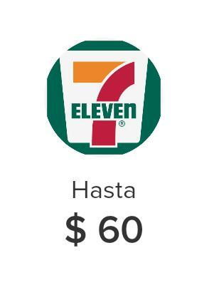 Mercado pago | 7 Eleven $60 de descuento en mínima de $80