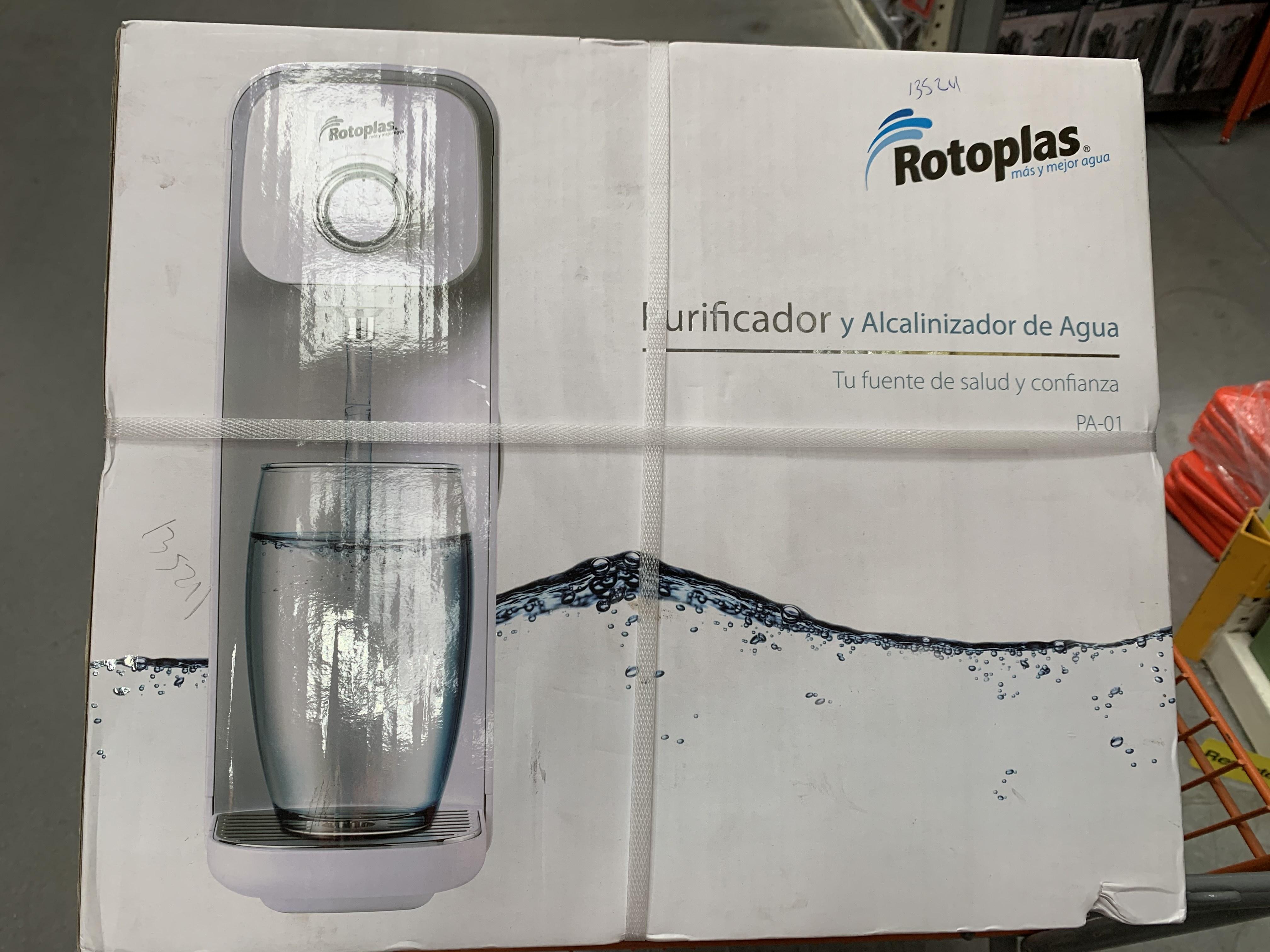 Home Depot: Purificador y Alcanizador de Agua Rotoplas PA-01