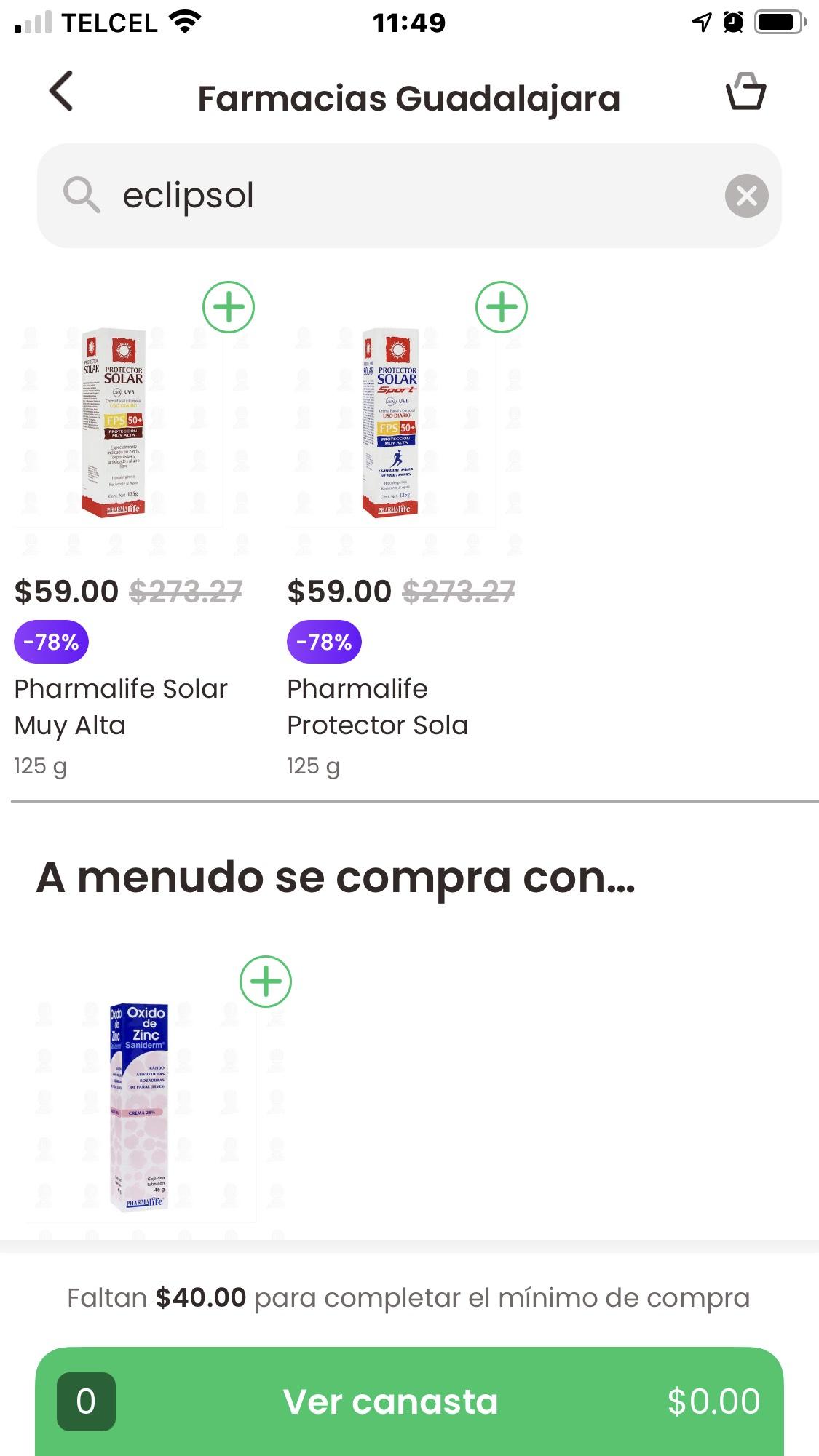 Farmacia Guadalajara: Protector Solar Pharmalife