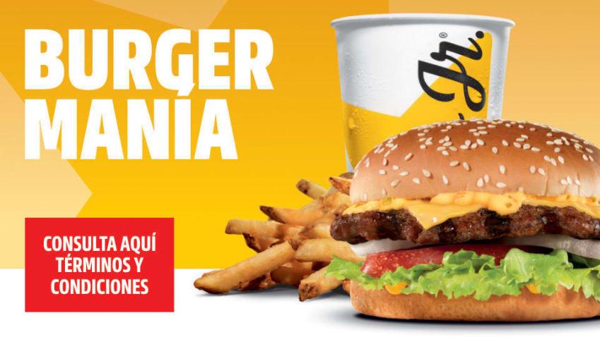 Carl's Jr: Burgermania combo carl's jr x 85