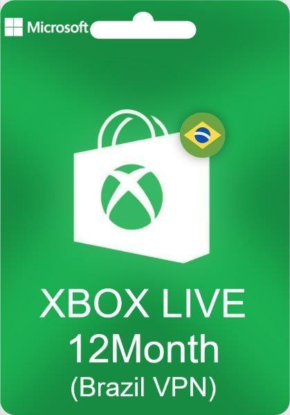 Xbox: 12 Meses de Xbox Live GOLD con VPN