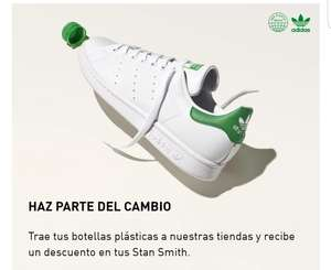 Adidas: Stan Smith Forever gratis con 100 botellas pet