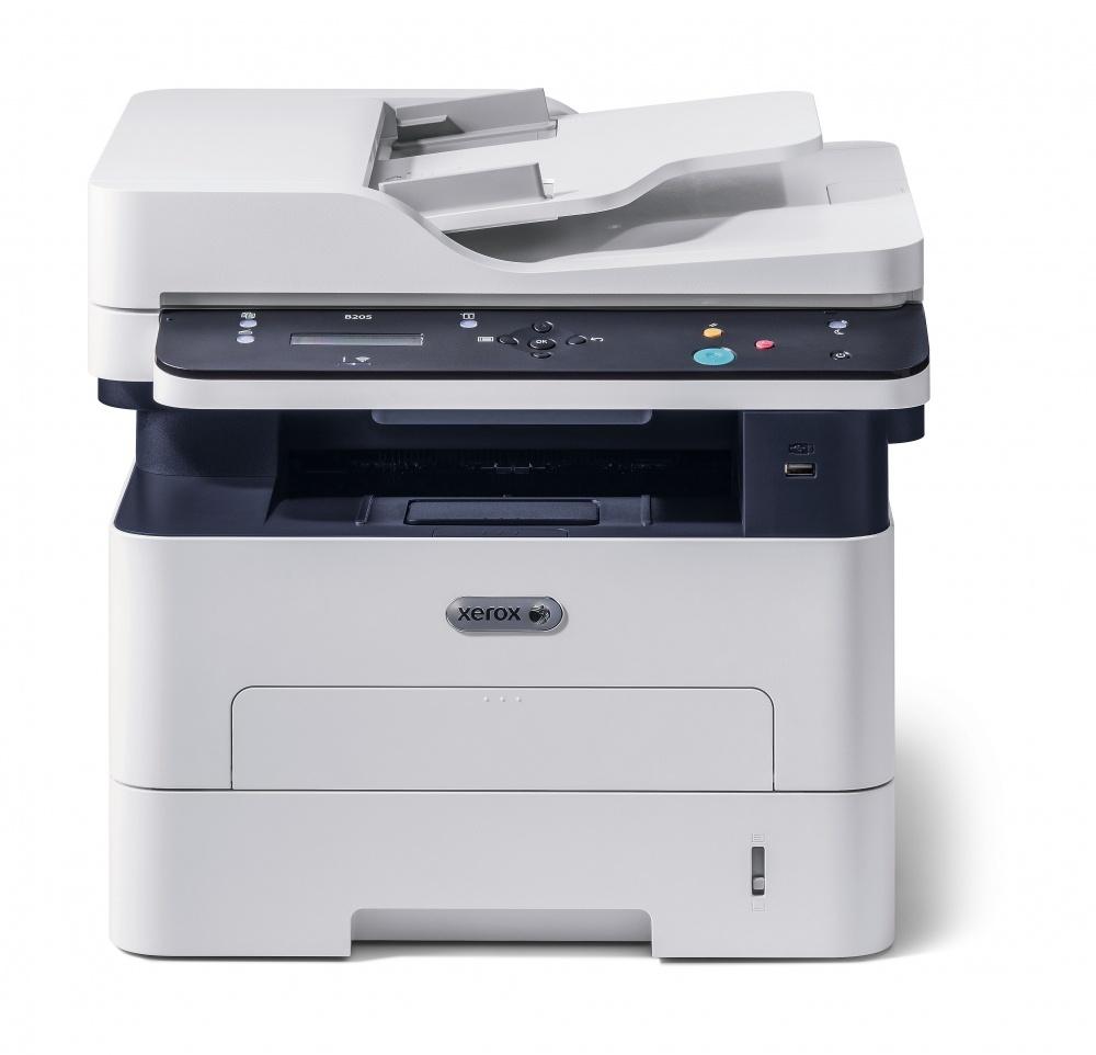 CyberPuerta: Multifuncional Xerox B205/NI, Blanco y Negro, Láser, Print/Scan/Copy