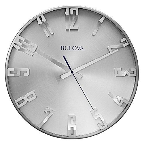 Amazon: Reloj BULOVA C4846 grande de pared (40 cm)